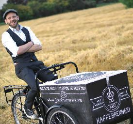 Coffee bike by Jacobsen & Svart