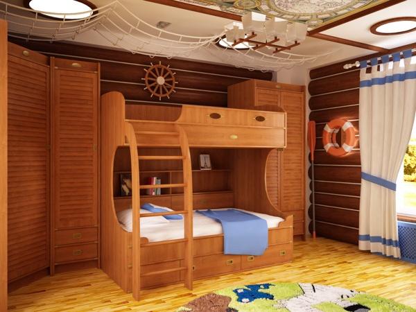 Kid`s playroom by Stanislav Torzhkov, via Behance