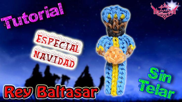 ♥ Tutorial[ESPECIAL NAVIDAD]: Rey Baltasar (sin telar) ♥