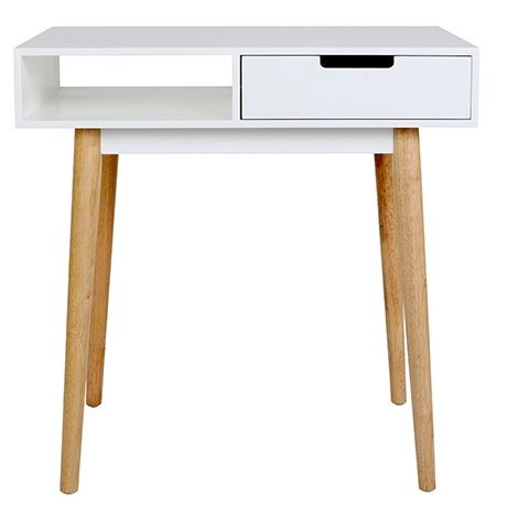 Petite Desk 75x45cm  White