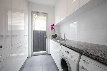 Northcote contemporary laundry room