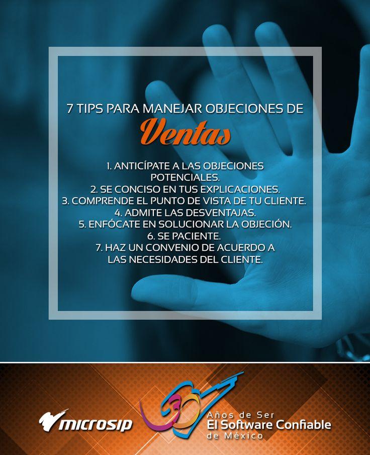 #TipsDeNegocios 7 tips para manejar objeciones de ventas