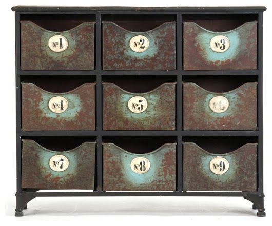 Doriane Cabinet - Farmhouse - Accent Chests And Cabinets - Other - by Zentique, Inc.