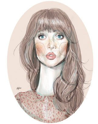 Malia Carter #illustration #painting #drawing