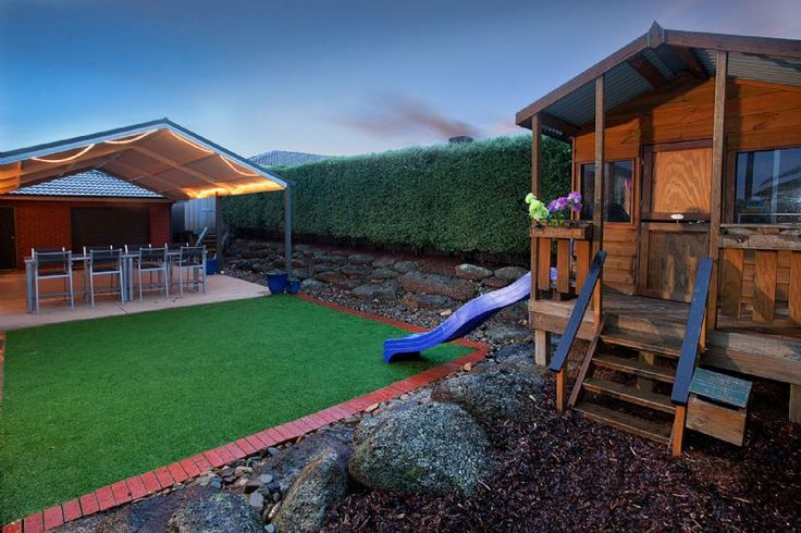 artificial grass cubby house - Google Search