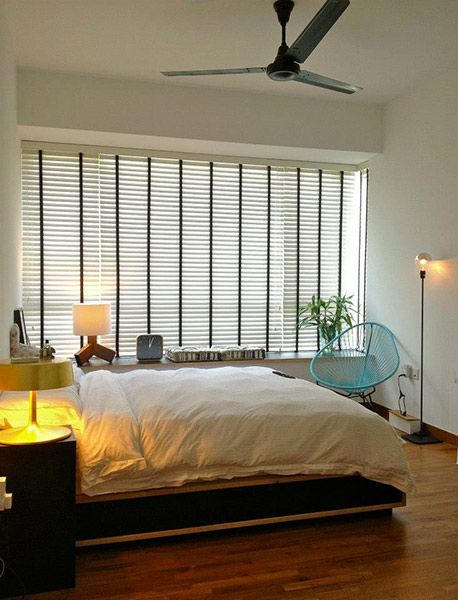 nice and relaxing master bedroom!   JQ Ong - hdb interior design