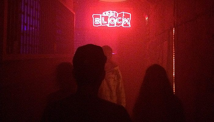 """the Block""-Club in Tel Aviv, Israel; mehr übers Nightlife dort: http://rutisreisen.de/new-kids-on-the-block-in-tel-aviv/"