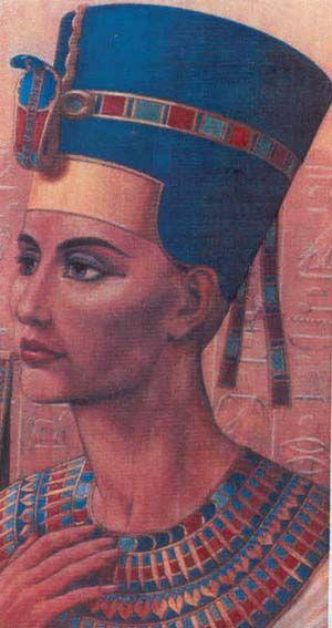 unknown artist. Nefertiti, fine art, Egypt, portrait ...