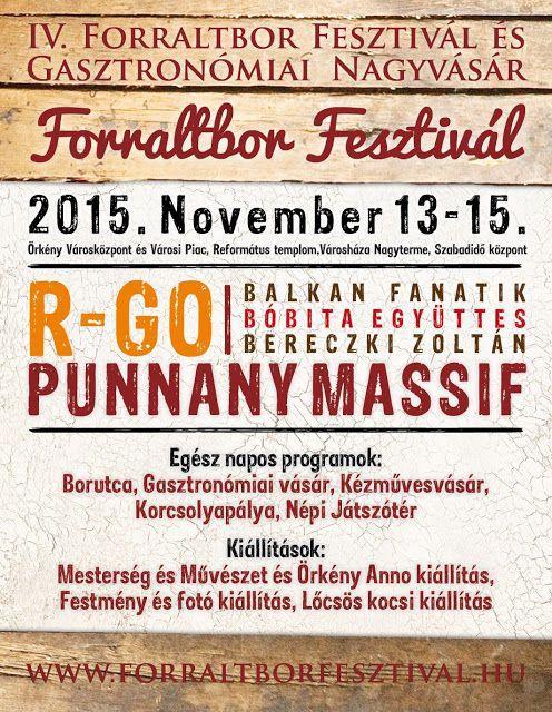 Plakát104: Forraltbor Fesztivál Örkényben