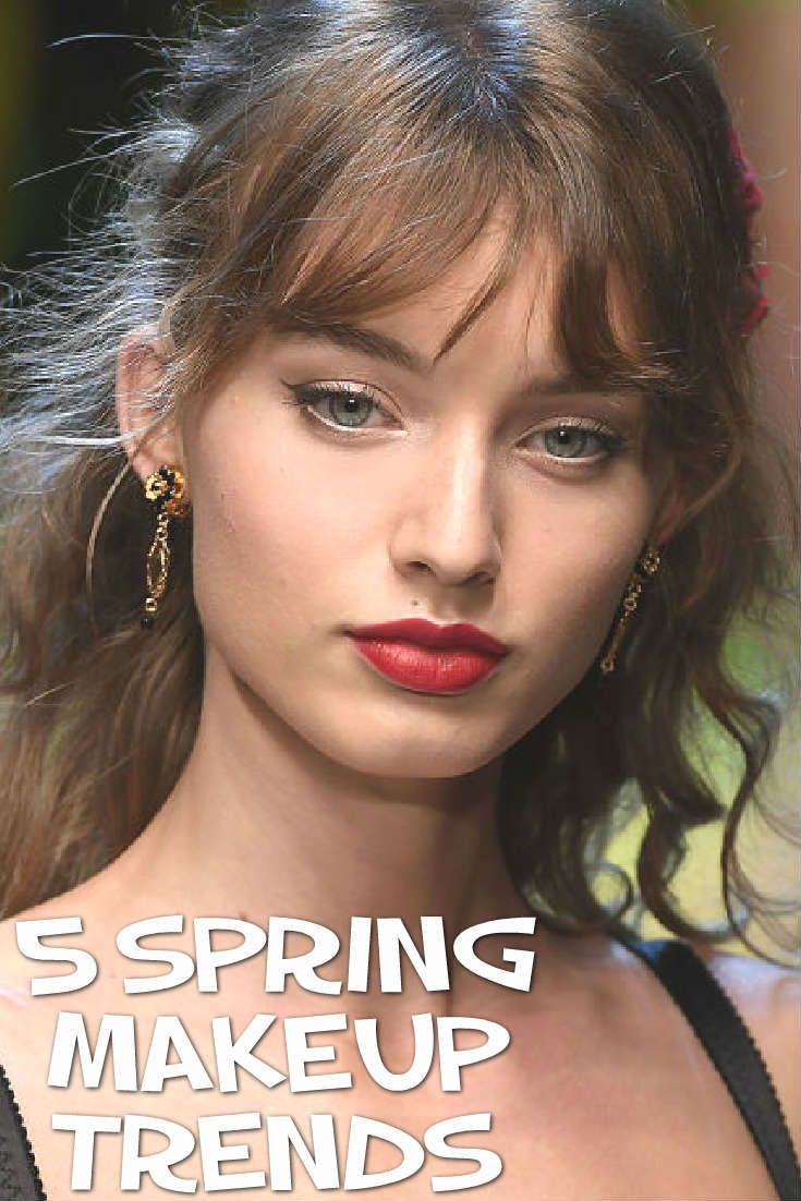 Ever wanted to be ahead of the curb and incorporate some new makeup trends into your usual routine? Even though we're still in the midst of winter, we have compiled a list of makeup looks which are sure to be huge, during the spring and summer months ahead.