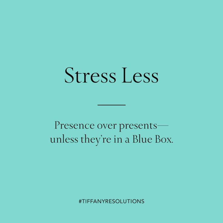Stress less. Presence over presents—unless they're in a Blue Box.