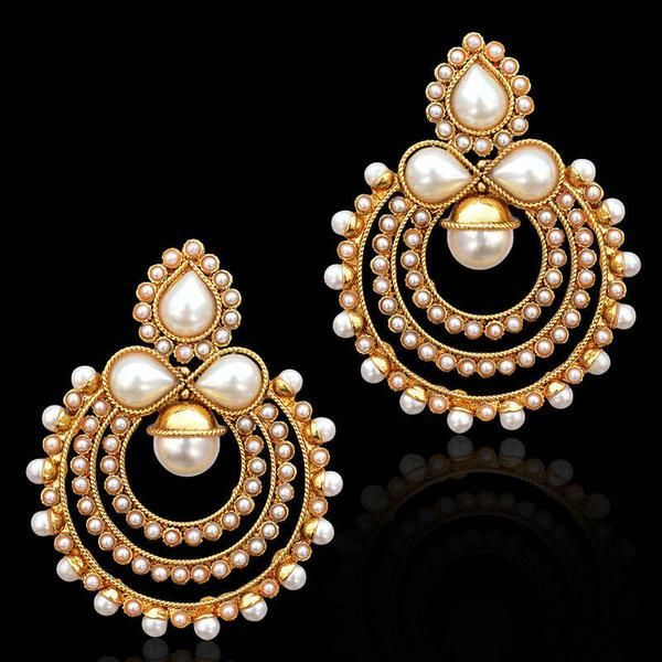 Wow -https://www.cooliyo.com/product/91728/traditional-indian-bollywood-jewelry-gold-finish-pearl-polki-dangler-earrings/