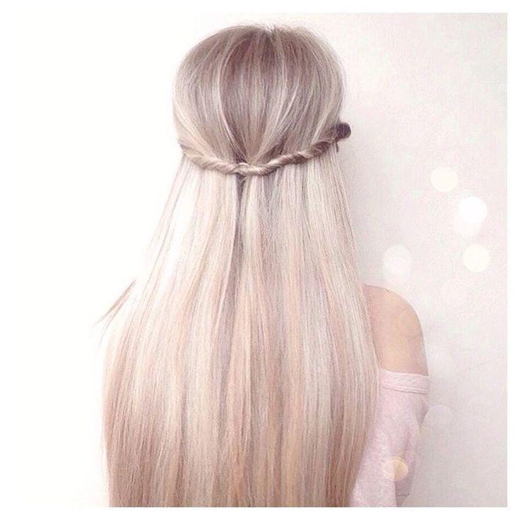 Best 25+ Blonde Straight Hair Ideas On Pinterest