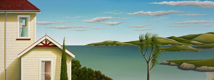 Sunny Daze by Hamish Allan - art-prints, cards and blocks available from imagevault.co.nz