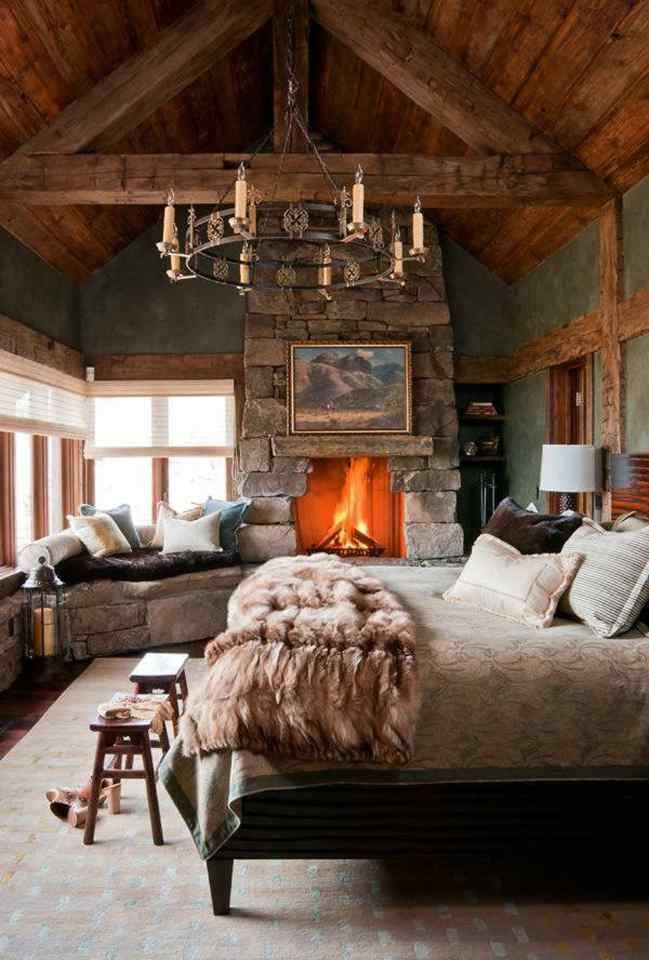 Romantic rustic, such a beautiful dreamy room.