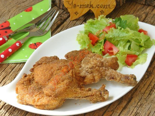 Fırında Galeta Unlu Çıtır Tavuk Pirzola Resimli Tarifi - Yemek Tarifleri