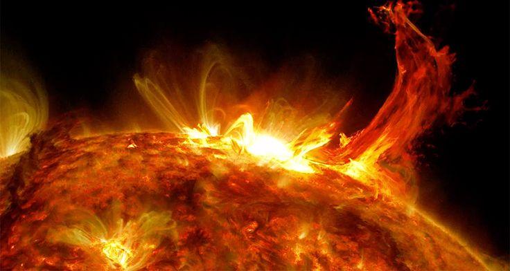 NASA maakt prachtige timelapse van explosies op de zon