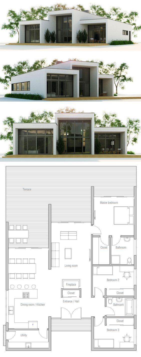 Small House Plan 8 best modern construction