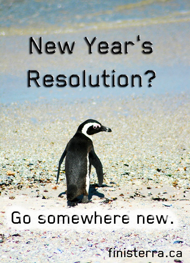 New Years Resolution Go Somewhere New Finisterra Travel