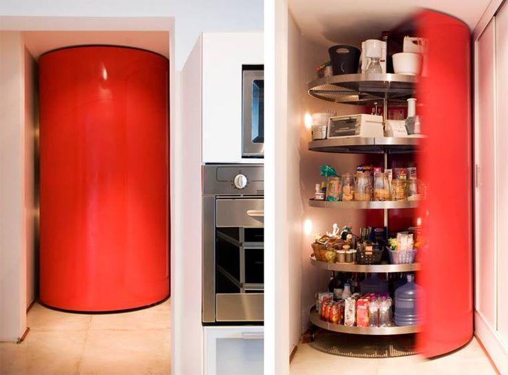 17 migliori idee su dispensa cucina su pinterest mobili for Disegni della cucina con a piedi in dispensa