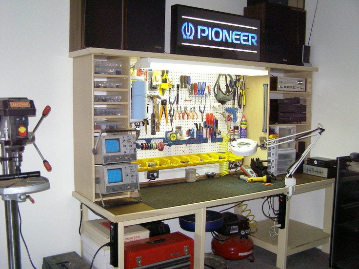 Diy Electronics Repair Workbench : Best electronic workbench images on pinterest