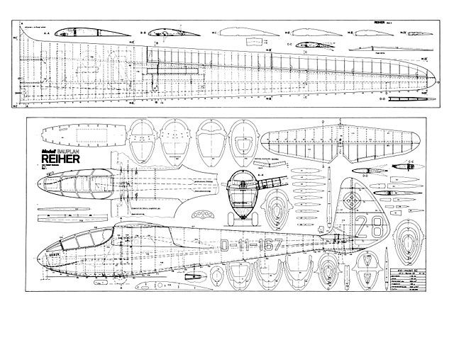 DFS Reiher III - plan thumbnail image | Planes - Model ...