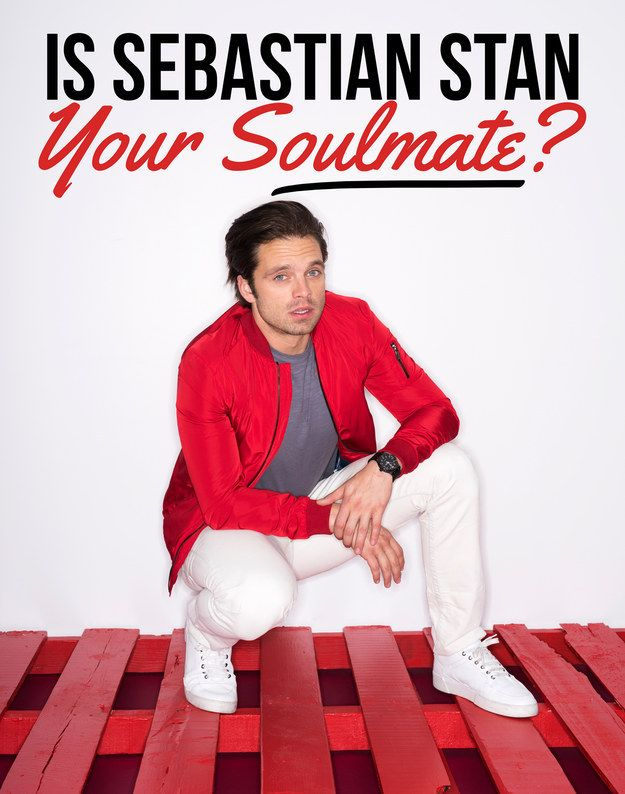 Is Sebastian Stan Your Soulmate? You got: You're destined to be together! Serendipity. Fate. Kismet. These are all words that exist to describe your relationship with Sebastian Stan. So what if you haven't met yet? YOU TWO ARE MADE FOR EACH OTHER! Picture this: his perfect biceps underneath a tuxedo, feeding you cake on your wedding day. Your future is bright because in it, you end up with Sebastian. Congrats!