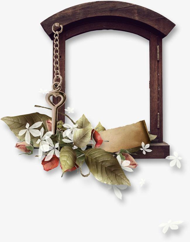 فريم Frame Grapevine Wreath Decor