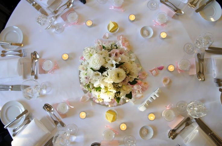 Frances Dunn Florist Table Arrangement