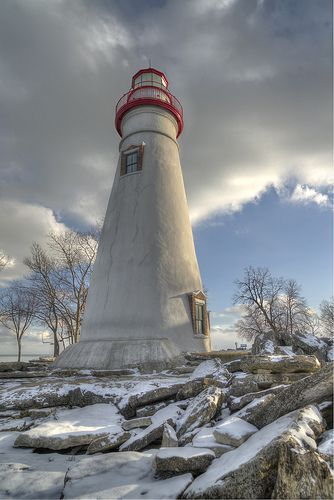 Marblehead Lighthouse on Lake Erie