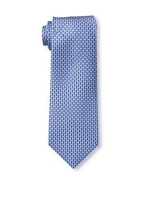 58% OFF Battistoni Men's Diagonal Dash Tie, Blue/Navy