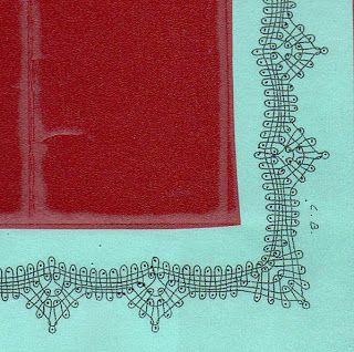 Les ouvrages de Myriam: Dentelle aux fuseaux