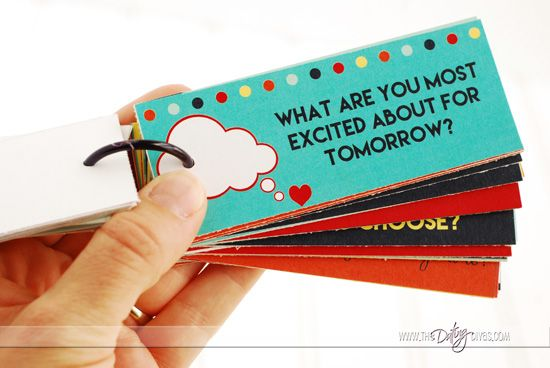 Pillow Talk Question Card Example Good example for topics you can talk about instead of asking people if they are okay.