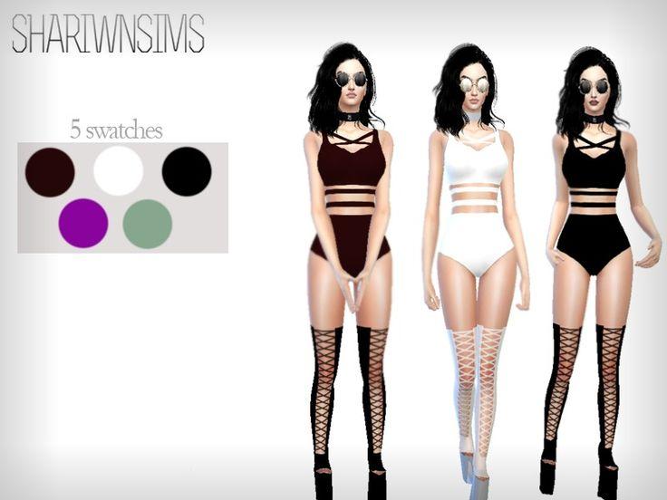 YAJAIRA BODYSUIT Found in TSR Category 'Sims 4 Female Swimwear'