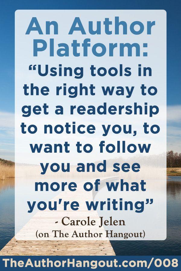 How To Build Your Author Platform| Book Marketing Tools Blog