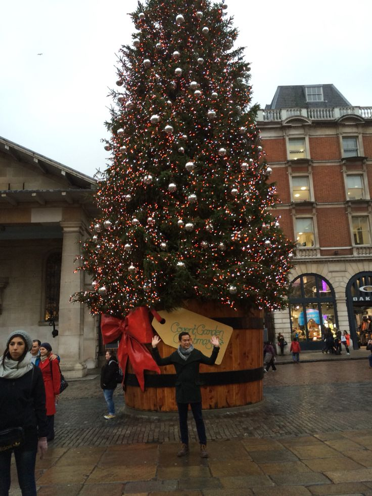 Christmas Tree in Covent Garden!
