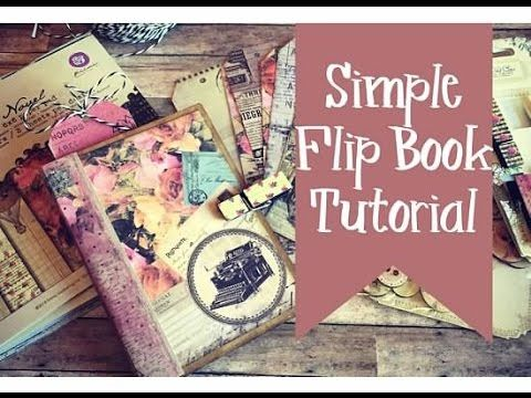 Simple Flip Pocket Book Using Cards and Envelopes! Pretty neat and fast :) ~ Youtube, lyriclover810