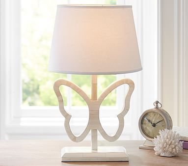 Inlay Butterfly Complete Lamp #pbkids