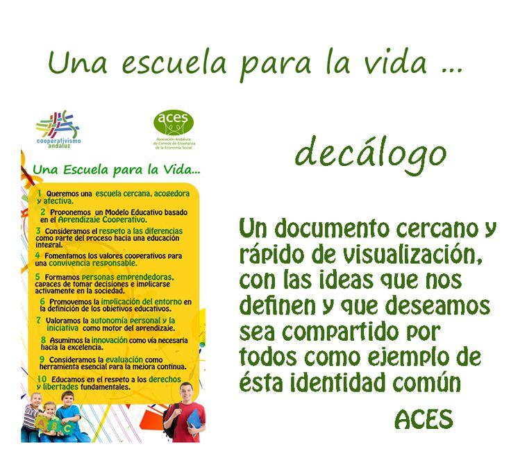 ACES : Asociación Andaluza de Centros de Enseñanza de la Economía Social