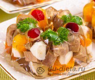 Заливное мясо по Дюкану » ДЮ-диета: диета Дюкана