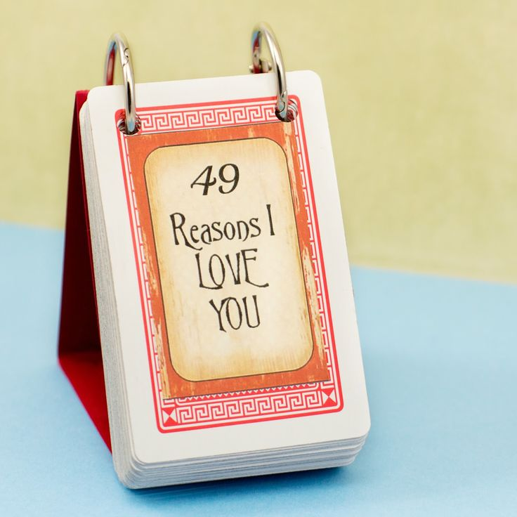 DIY 49 Reasons I Love You via Hopeful Honey