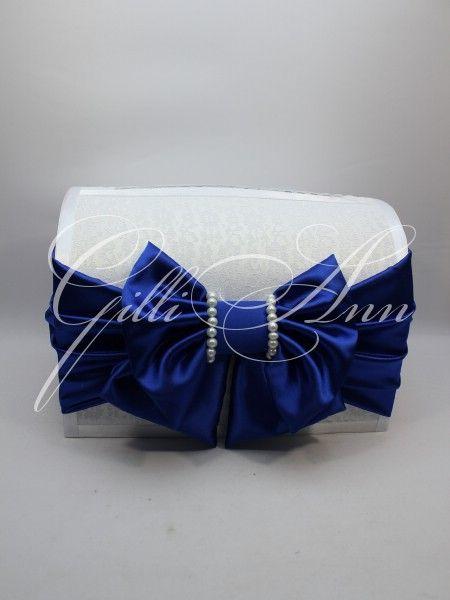 Свадебный сундучок для денег Gilliann Pearl in Blue BOX045, http://www.wedstyle.su/katalog/anniversaries/wedding-box-money, wedding box