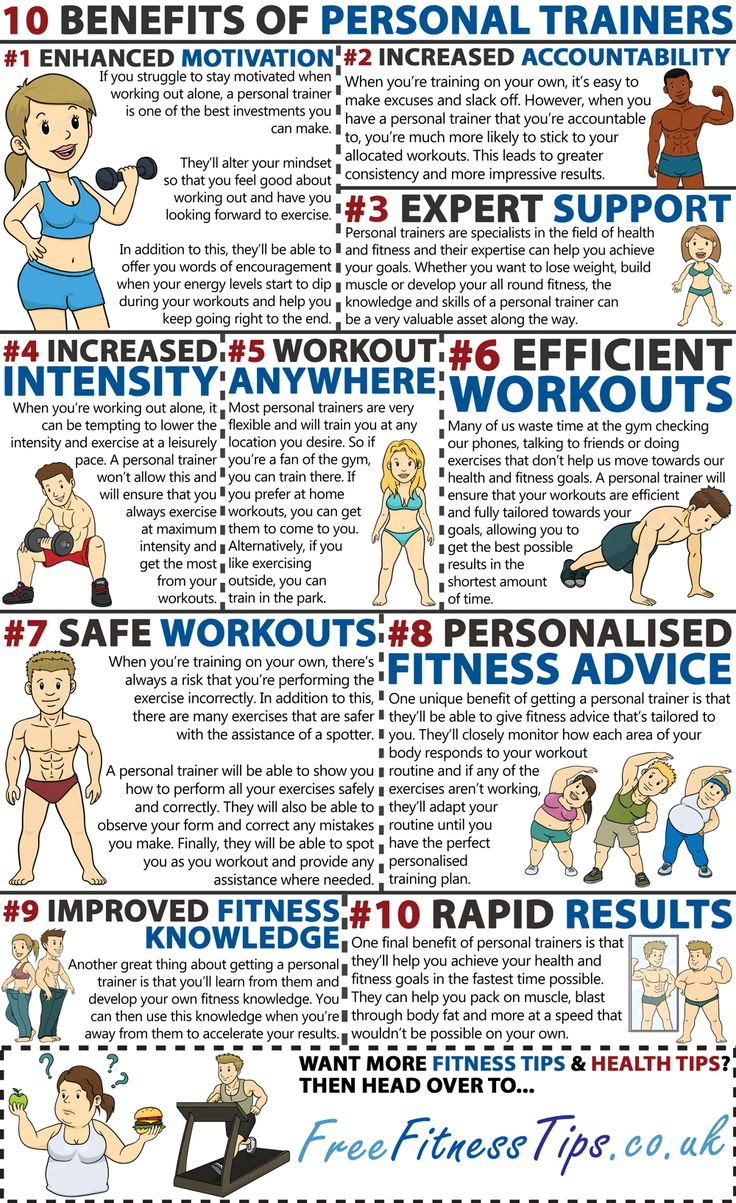 The benefits of being a personal trainer
