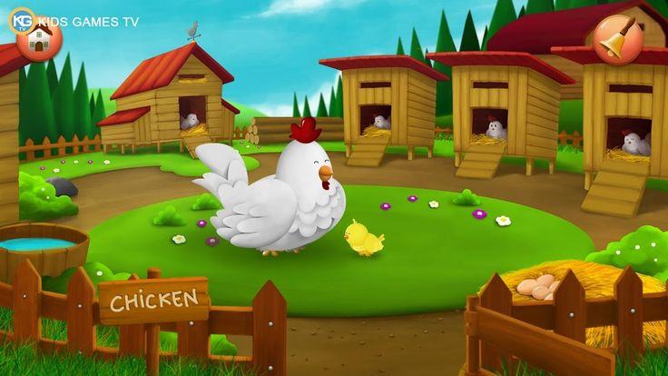 Feeding Time Farm Animals for Kids - Kids Games TV