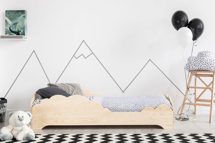Skandinavische Holz Wolke Bett Kiefer Holz Kleinkind Bett Haus Bett Kinder Wolke Boden Bett Holz Bett Kindergarten Cloud Bett Fur Kinder Booho In 2020 Toddler Bed Bed Mattress Dimensions