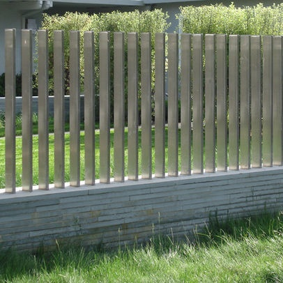 modern fence design pictures remodel decor and ideas - Fence Design Ideas