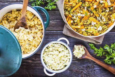Inspirujte se hned třemi nápady pro líné kuchaře. S květákem, cuketou i mrkví!