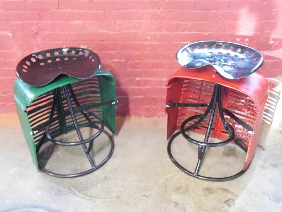 Hey, I found this really awesome Etsy listing at http://www.etsy.com/listing/130269917/1950s-farmall-tractor-stool