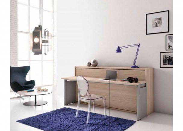 11 best camas y literas abatibles images on pinterest - Camas con escritorio ...