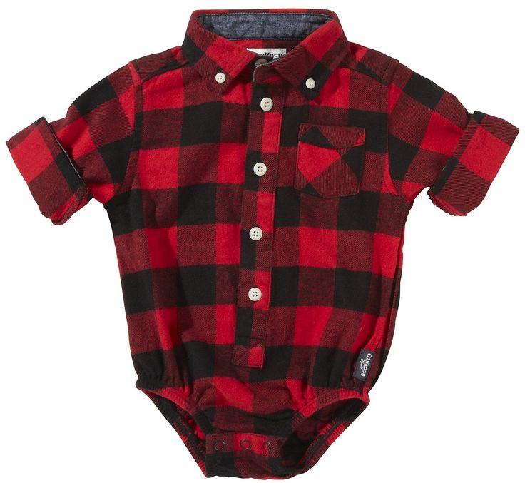 Oshkosh B Gosh Plaid Shirt Tpo Stinkin Cute Baby